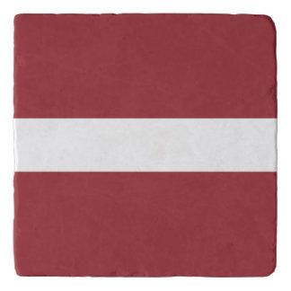 Latvia Flag Trivets