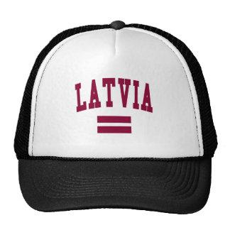 LATVIA MESH HATS