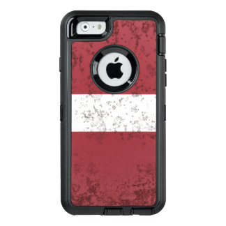 Latvia OtterBox Defender iPhone Case