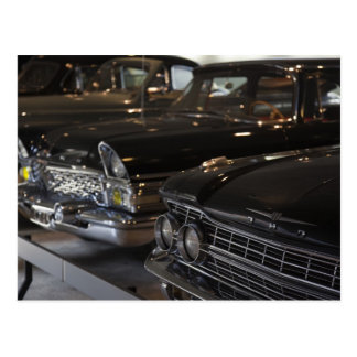 Latvia, Riga, Riga Motor Museum, cars of the Postcard