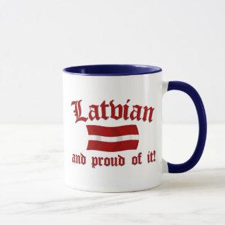 Latvian and Proud of It Mug