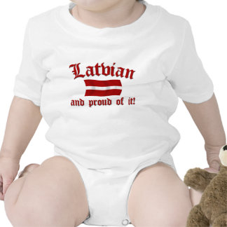 Latvian and Proud of It Shirts