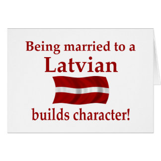 Latvian Builds Character Card