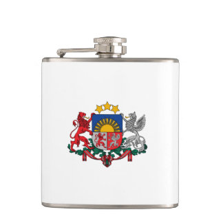 Latvian coat of arms flask