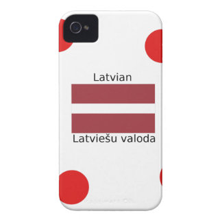 Latvian Language And Latvia Flag Design iPhone 4 Case-Mate Case