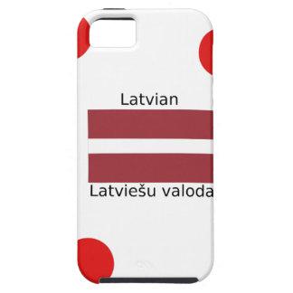 Latvian Language And Latvia Flag Design iPhone 5 Cases
