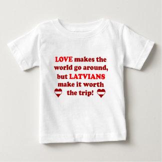Latvian Love T-shirt