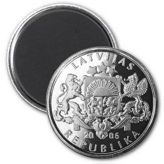 Latvian money magnet