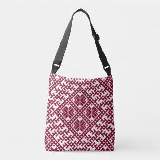 Latvian pattern Design Crossbody Bag