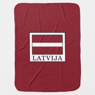 Latvija Baby Blanket