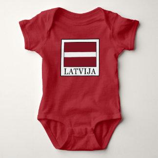 Latvija Baby Bodysuit