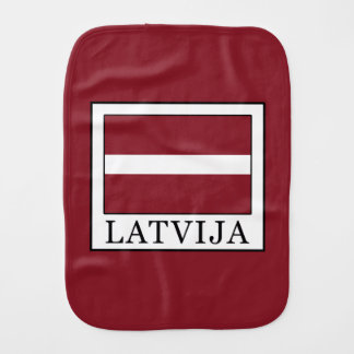 Latvija Burp Cloth