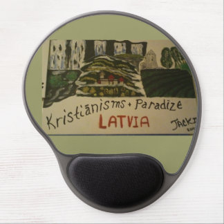 Latvija/Latvia christian mouse pad Gel Mouse Pad