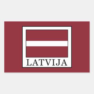 Latvija Rectangular Sticker