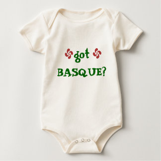 lauburu, lauburu, got BASQUE? Baby Bodysuit