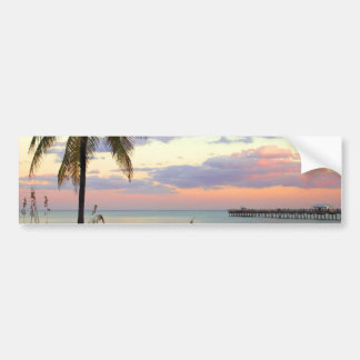 Lauderdale-by-the-Sea, Florida Sunset Bumper Sticker