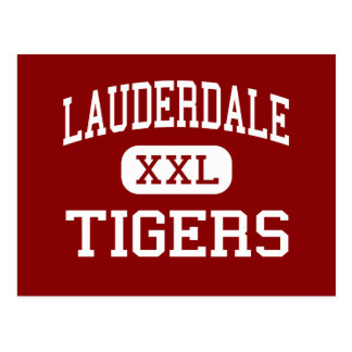 Lauderdale - Tigers - Middle - Ripley Tennessee Postcard