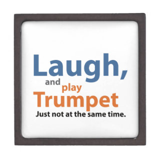 Laugh and Play Trumpet Premium Jewelry Boxes