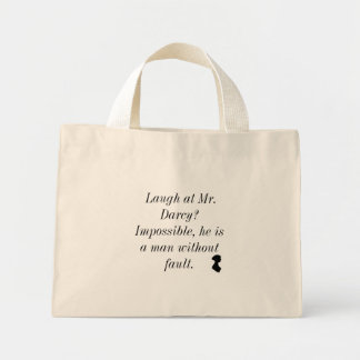 Laugh at Mr. Darcy Mini Tote Bag