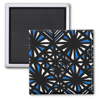 Laugh Cheery Fine Phenomenal Square Magnet