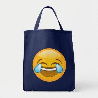 Laugh Emoji Tote Bag