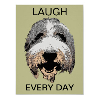 Laugh Every Day Pop Art Poster