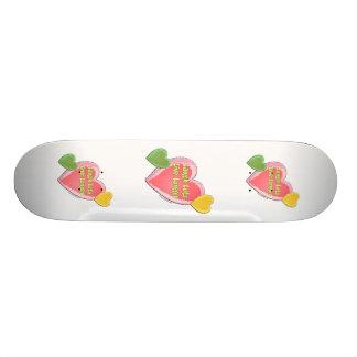 Laugh Live Longer Custom Skateboard