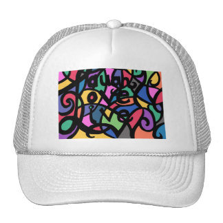 Laugh,Love, Live  Hat