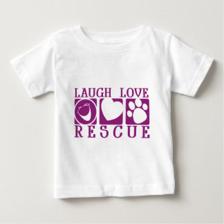 Laugh Love Rescue Baby T-Shirt