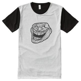 Laugh Meme Panel T-Shirt