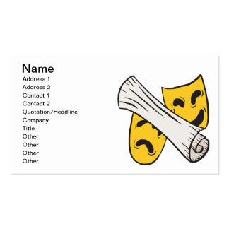 Laugh Now Cry Later Pack Of Standard Business Cards