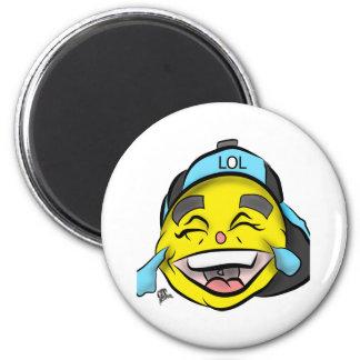 Laugh Out Loud Emoji Magnet