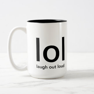 laugh out loud mug