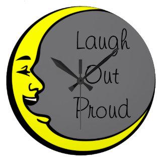 Laugh Out Proud Large Clock