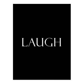 Laugh Quotes Inspirational Laughter Quote Postcard