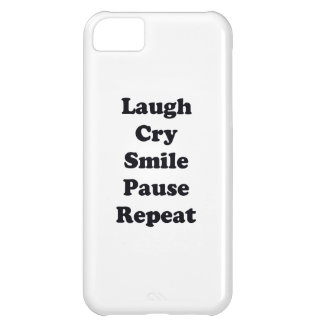 Laugh Repeat iPhone 5C Case