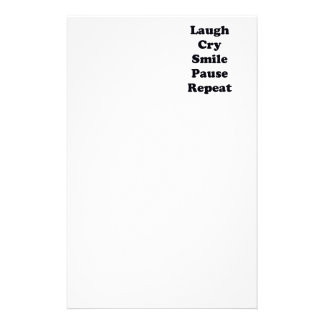 Laugh Repeat Stationery