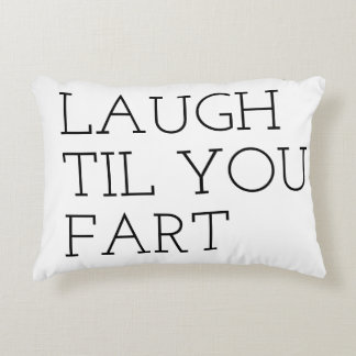laugh til you fart quote bestselling decorative cushion