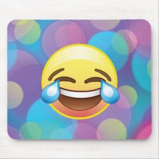 Laugh till you Cry, Tears of Happiness Emoji Pad Mouse Pad