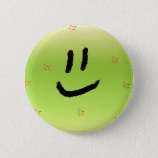 Laughing 6 Cm Round Badge