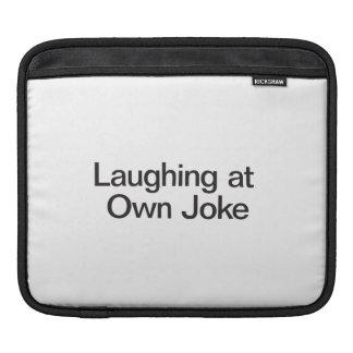 Laughing At Own Joke iPad Sleeve