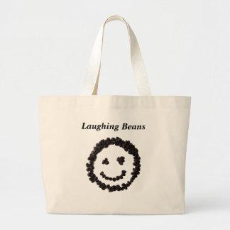 Laughing Beans totobatsugu Large Tote Bag