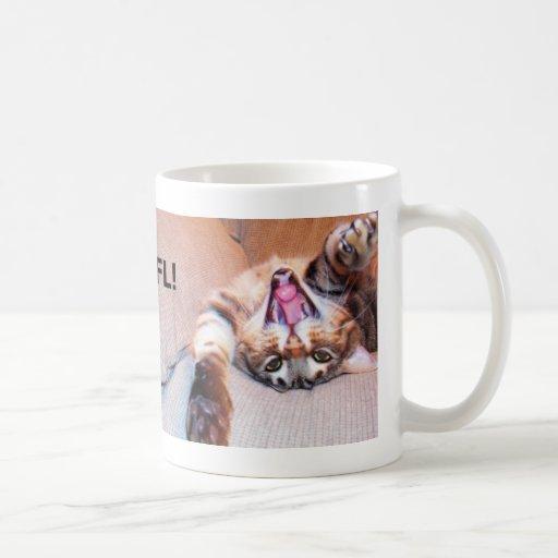 Laughing Bengal Cat Mug