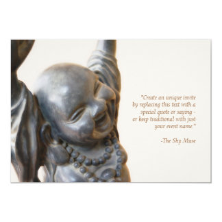 Laughing Buddha Invitation