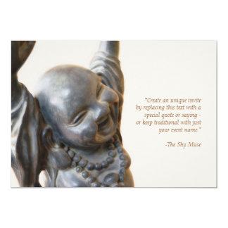 Laughing Buddha Invitation