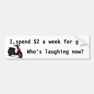 Laughing Bumper Bumper Sticker