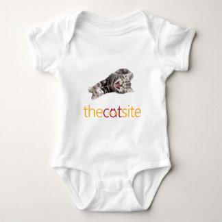 Laughing Cat Baby Bodysuit