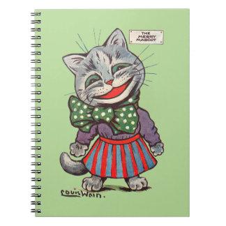 Laughing Cat, Louis Wain Notebook
