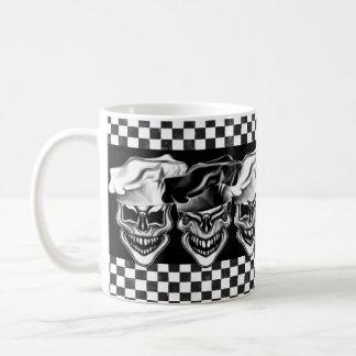 Laughing Chef Skulls Coffee Mug