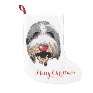 Laughing Dog Christmas Stocking